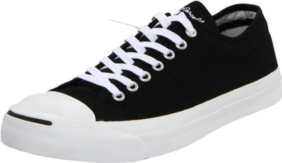 Tenis Converse Unisex Jack Purcell Canvas Low Top Negro