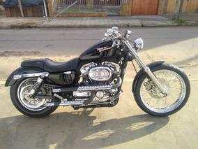 Harley-davidson 883 Única En Su Estilo