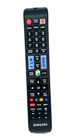 Control Samsung Smart Tv 3d Netflix Amazon + Pilas Gratis