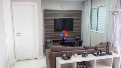 Apartamento Com 3 Dormitórios À Venda, 100 M² Por R$ 853.712 - Barra Funda - São Paulo/sp - Ap7755