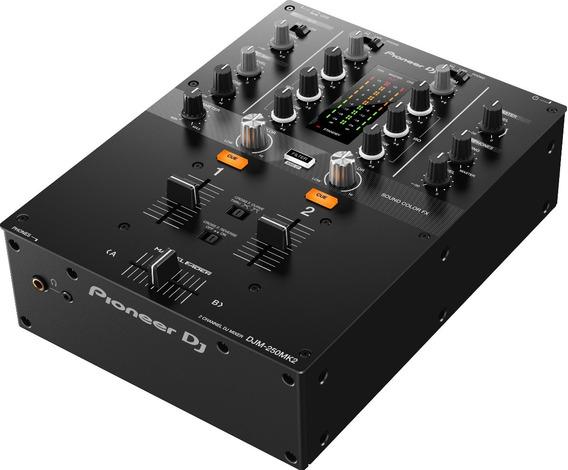 Mixer Djm 250 Mk2 Pioneer + Nf + 1 Ano Garantia