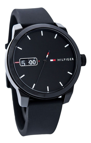 Tommy Hilfiger Reloj Negro Excelente