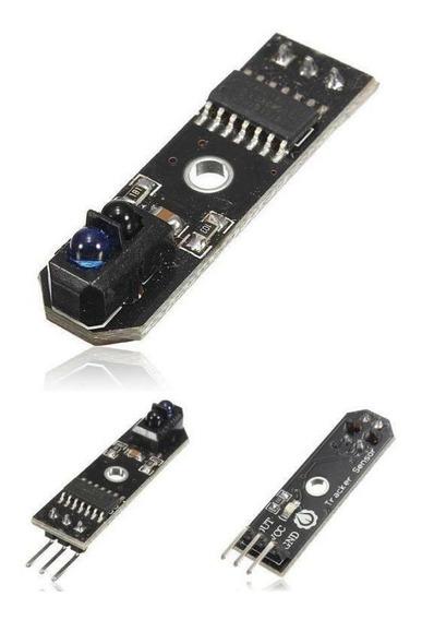 2 Sensor Seguidor Linha Trilha Line Track Pra Robot Arduino