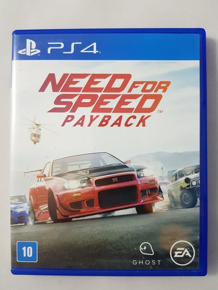 Need For Speed Payback Ps4 Mídia Física Pronta Entrega