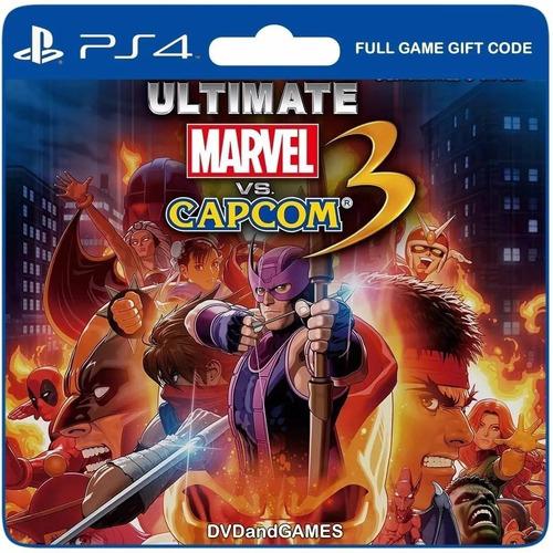 Ultimate Marvel Vs Capcom 3 Juego Ps4 Original + Garantía