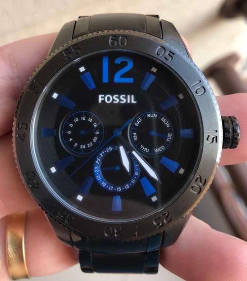 Relógio Fóssil Modelo Bq2116 - Usado E Original