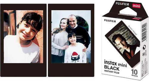 Fujifilm Cartucho Fuji Instax Mini Negro 10 Hojas