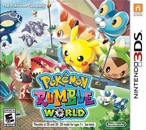 Pokemon Rumble World 3ds - Físico (lacrado)