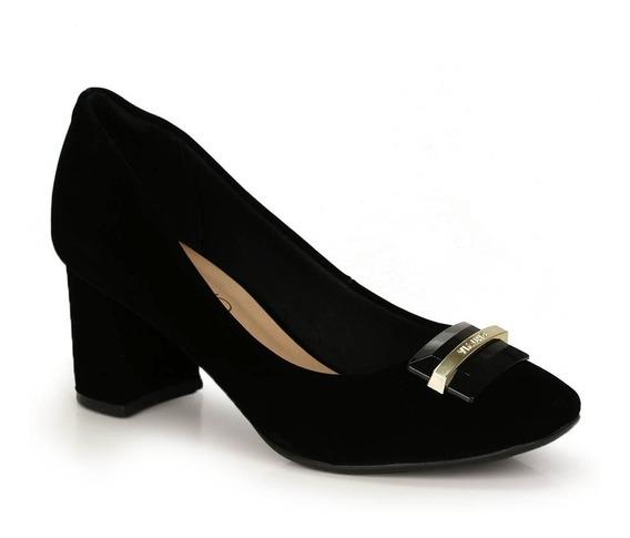 Sapato Salto Grosso Via Uno