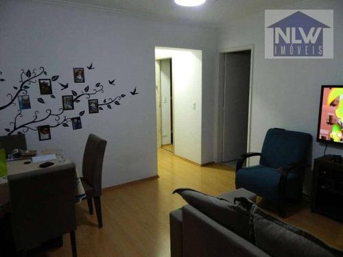 Apartamento Com 2 Dormitórios À Venda, 60 M² Por R$ 320.000,00 - Vila Das Belezas - São Paulo/sp - Ap2642