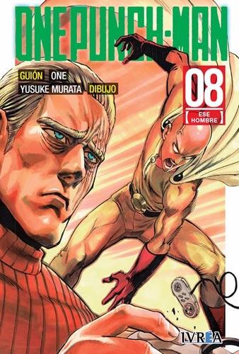 Manga One Punch Man Tomo 08 - Editorial Ivrea