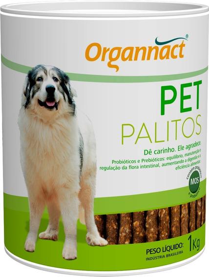 Pet Palitos Probiotico 1kg Organnact 1 Kg
