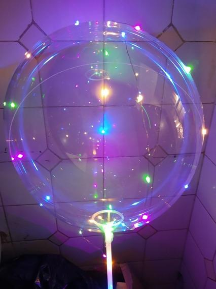 1 Globo Burbuja Cristal Transparente P/guirnalda Led Sin Led