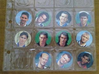 11 Tazos Calcio Stars Panini Lançados Na Itália - 1996