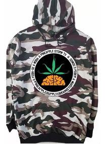 Moletom Pineapple Logo Grande Banda Rap Promoção