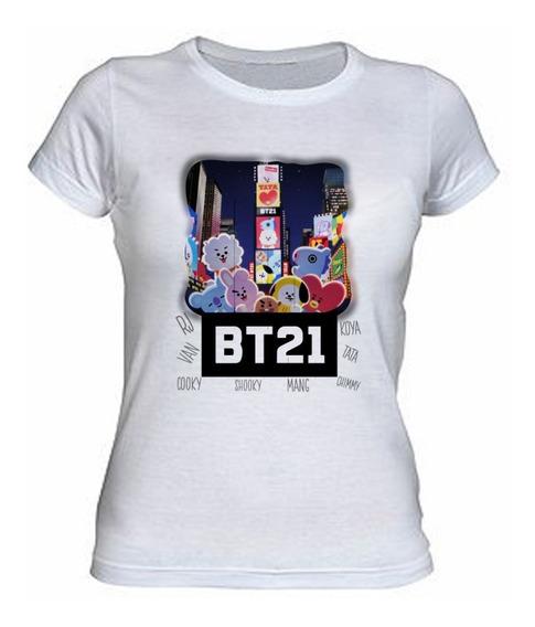 Playera Kpop - Bts, Bt21