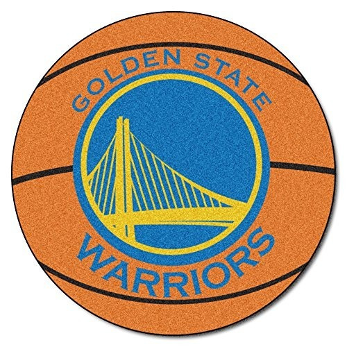 Fanmats Nba Golden State Warriors Nylon Face Alfombra De Bal