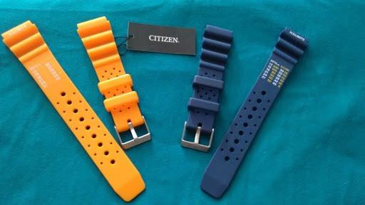 Pulseira Azul Citizen 20mm