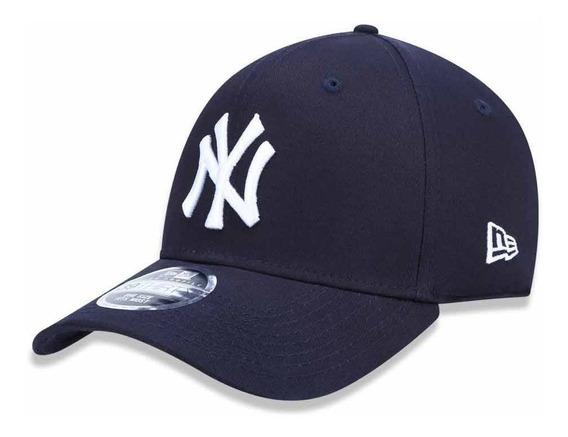 Boné New Era Aba Curva Fechado Mlb Ny Yankees Neperbon155