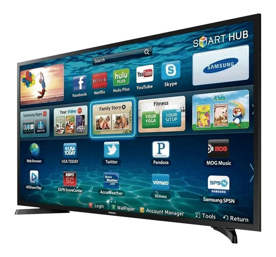 Smart Tv Samsung 32 Led Hd Lh32benelga/zd Preto