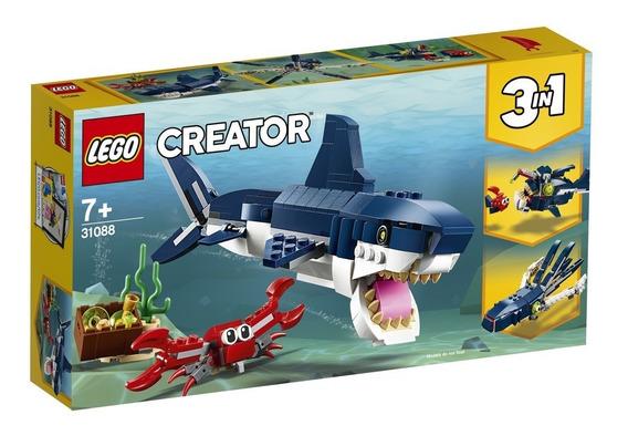 Blocos De Montar - Lego Creator - Criaturas Do Fundo Do Mar