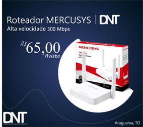 It 10 Und. Roteador Mercusys Mw301r 300 Mbps