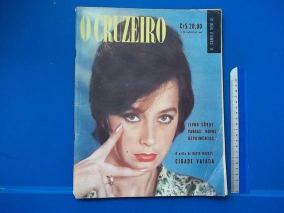 Revista O Cruzeiro Nr 44 Ago 1960 Livro Sobre Vargas D Camil