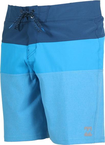 Boardshort Hombre Billabong Traje De Baño Tribong X Blu
