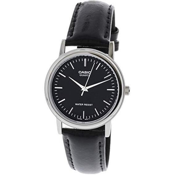 Casio Reloj De Cuero Para Hombre Mtp1095e1a