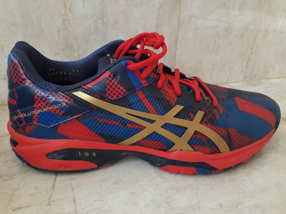 Tênis Asics Gel Solution Speed 3 Vermelho - Exclusivíssimo
