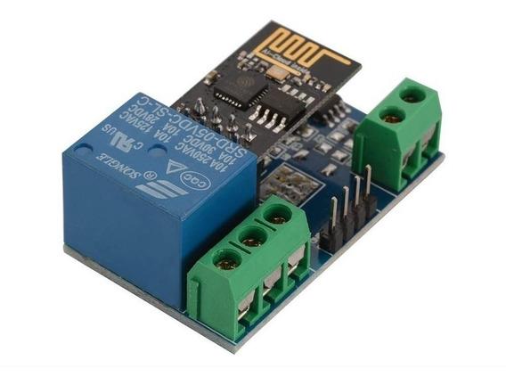 Módulo Relé Wi-fi Esp8266 Com Esp-01 Arduino Serial