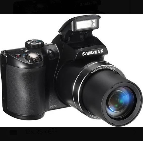 Câmera Samsung Wb100 Preta C/ Lcd 3,0, 16.2mp, Zoom 26