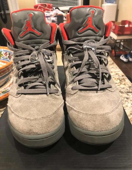 Air Jordan 5 Olive / Camo 10 Us