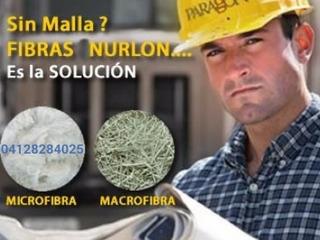 Fibra Para Concreto, Macrofibra Sustituto De Malla
