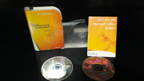 Original Microsoft Office Home And Student 2007 Word Excel