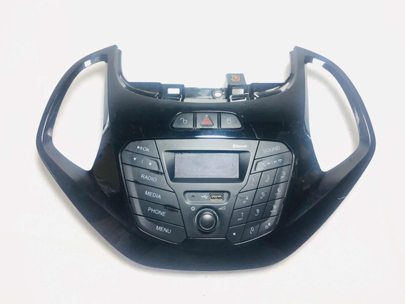Acabamento Moldura Rádio Teclado Ford Ka 13/18 Original