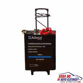 Carregador Bateria 12v-carga Lenta/rapida-com Auxiliar Part