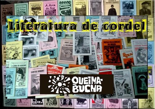 Imagem 1 de 3 de Literatura De Cordel - 25 Folhetos