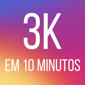 3 Mil Seguidores Para Instagram