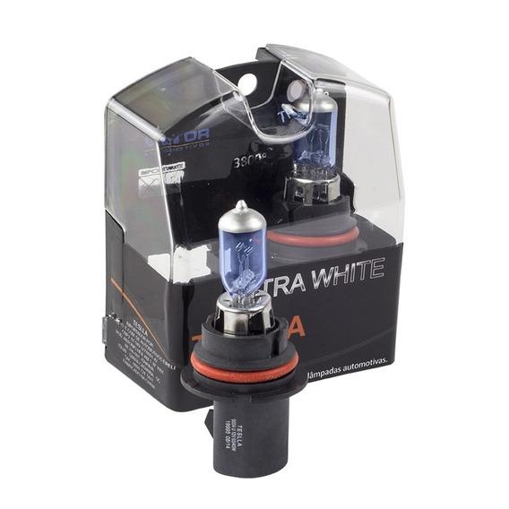 Kit Com 2 Lâmpadas Halógenas Hb1 - Ultra Branca