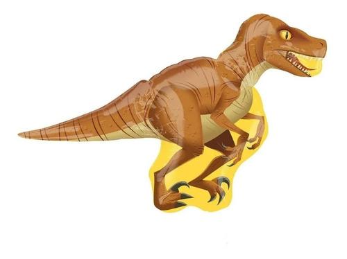 Globo Metalizado Dinosaurio Velociraptor Grande 104x85cm