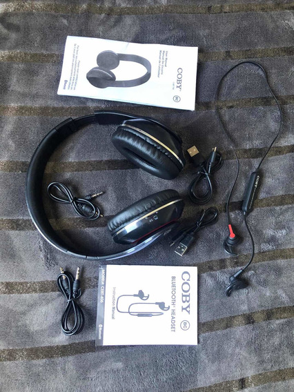 Fones Bluetooth Coby ( Earbud + Headset )