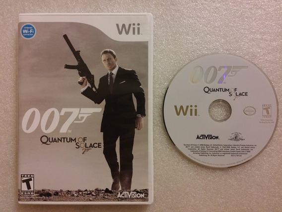 Wii: 007 Quantum Of Solace Wii Americano Completo!! Jogaço!!