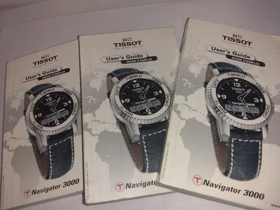 Instructivo Reloj Tissot Navigator 3000