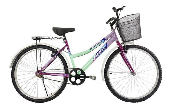 Bicicleta Panther Peregrina Equipada Canasta Rodada 26
