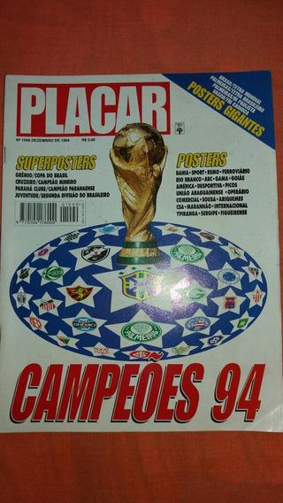 Revista Placar 1099 Edicao Dos Campeoes 94 Completa Excelent