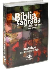 10 Bíblias Edição Com Notas Para Jovens Capa Brochura Ntlh