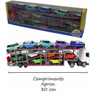 Caminhão Cegonheira Superfrota Com Mini Veículos Poliplac