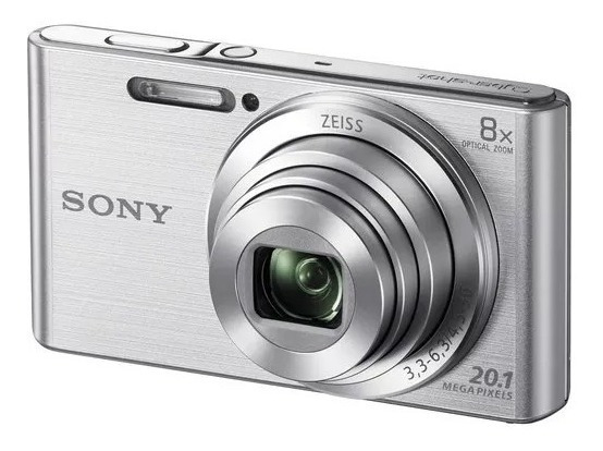 Câmera Digital Sony W800 Cyber Shot 20.1 Mp Tel Lcd Hd Usada