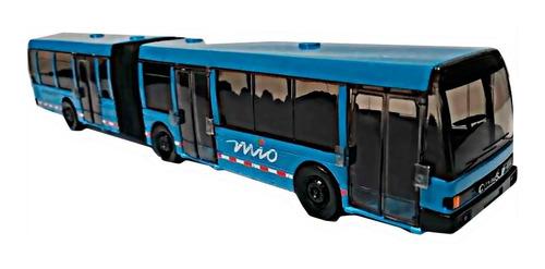 Bus Mio Metalico Maisto Servicio Articulado